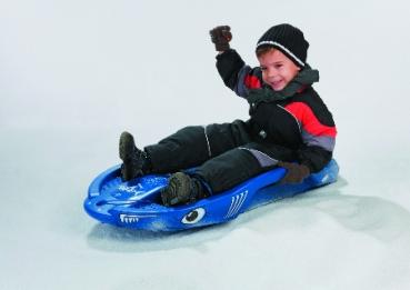 Schlitten snow shark schneesurfer bob rolly toys for Christiane heyn
