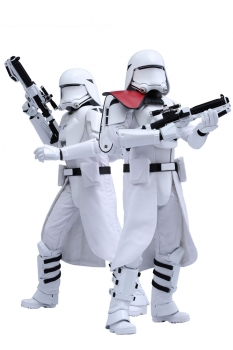 Star Wars Episode VII Movie Masterpiece Actionfiguren Doppelpack 1/6 First Order Snowtroopers