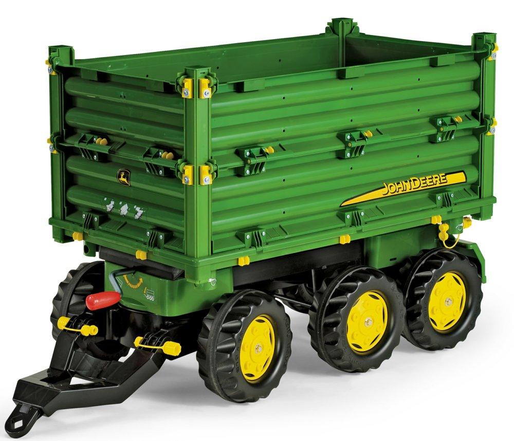 traktorzubeh r rolly toys anh nger multi trailer john deere dreiachanh nger. Black Bedroom Furniture Sets. Home Design Ideas