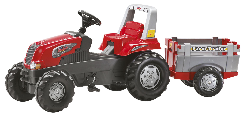 trettraktoren rolly toys traktoren rollyjunior rolly. Black Bedroom Furniture Sets. Home Design Ideas